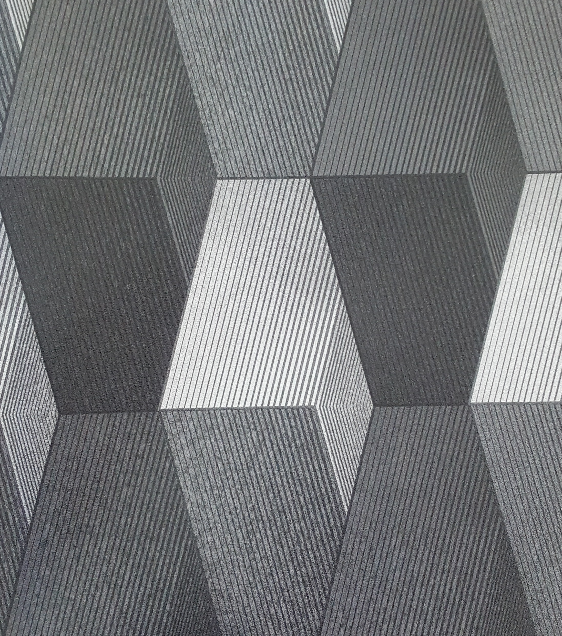 Light and dark grey modern 3d patterned wallpaper x156 - Light and dark grey wallpaper ...