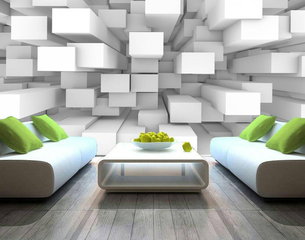 3D Cubes Custom wall murals / wallpapers – DCWM000513