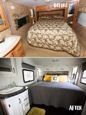17 RV & Camper Van Remodel, Hacks Interior Decor Ideas