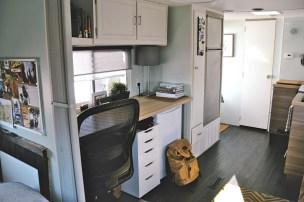 58 RV & Camper Van Remodel, Hacks Interior Decor Ideas