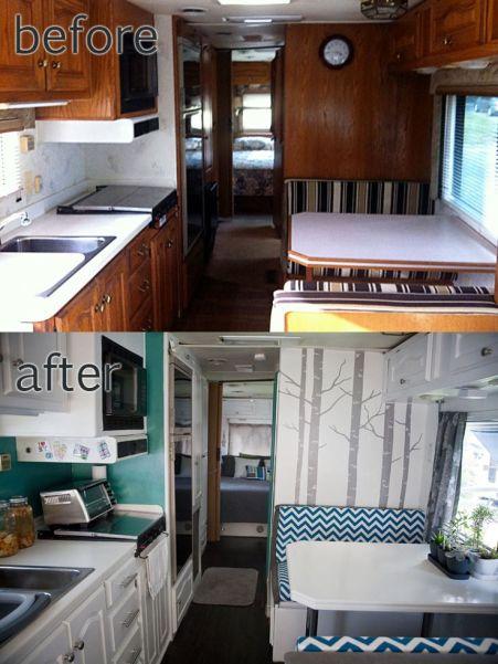 72 RV & Camper Van Remodel, Hacks Interior Decor Ideas