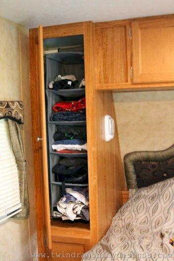 Creative Camper Van & RV Storage 68 Ideas