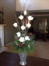 Elegant Winter Floral Arrangement