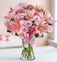 Expressions Of Pink Flower Arrangement