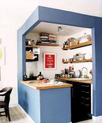 Marvelous Smart Small Kitchen Design Ideas No 29