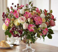 Rose Silk Flower Arrangements