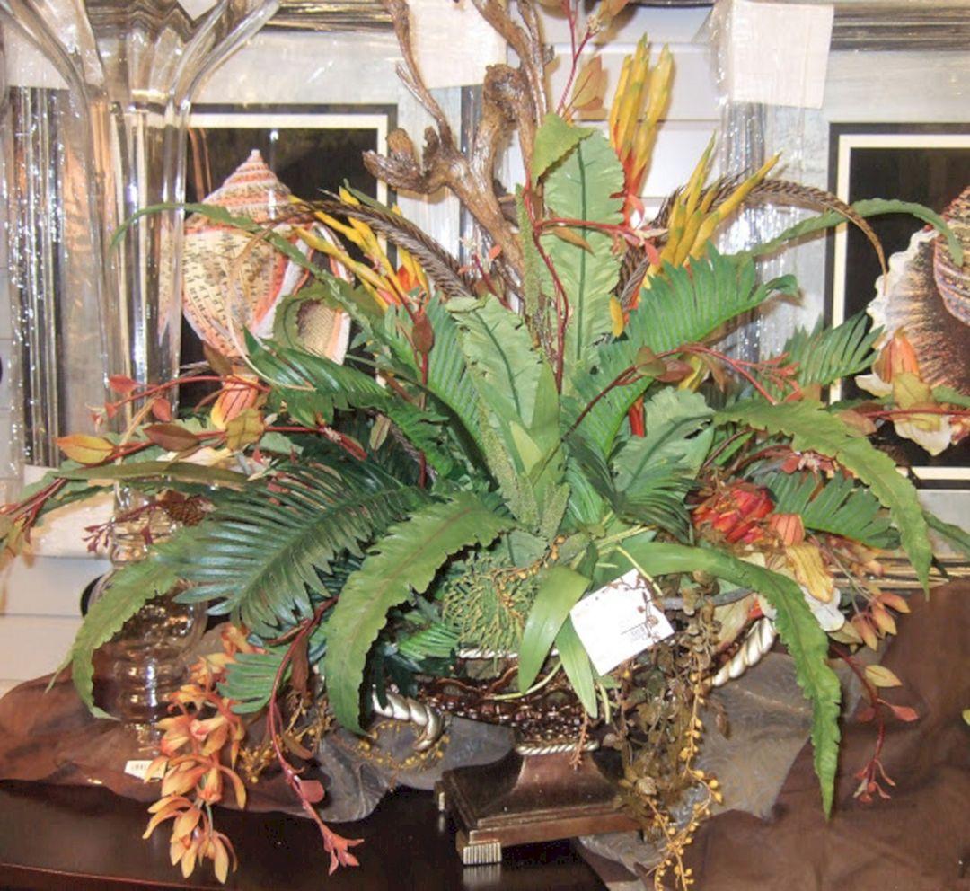 Tropical Silk Flower Arrangement Decoredo