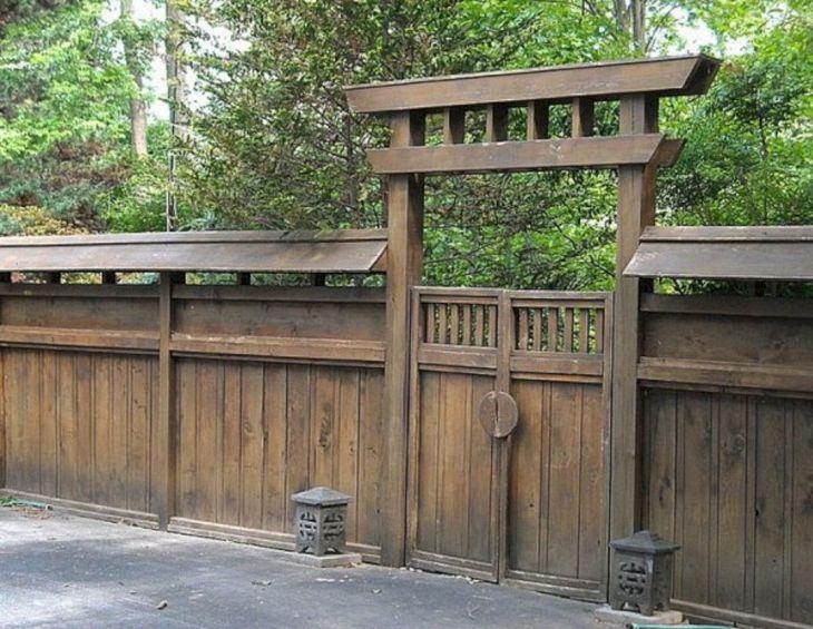 Best Wooden Garden Fence Design Ideas