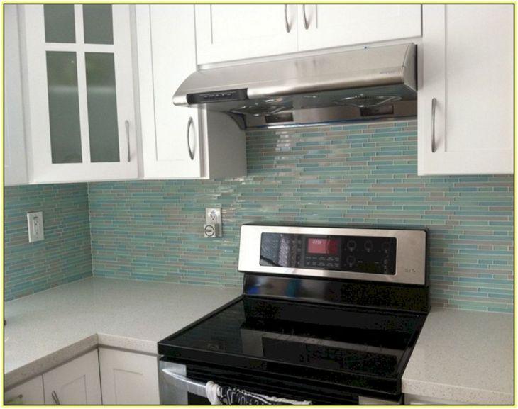 DIY Kitchen Backsplash Tile With Storage