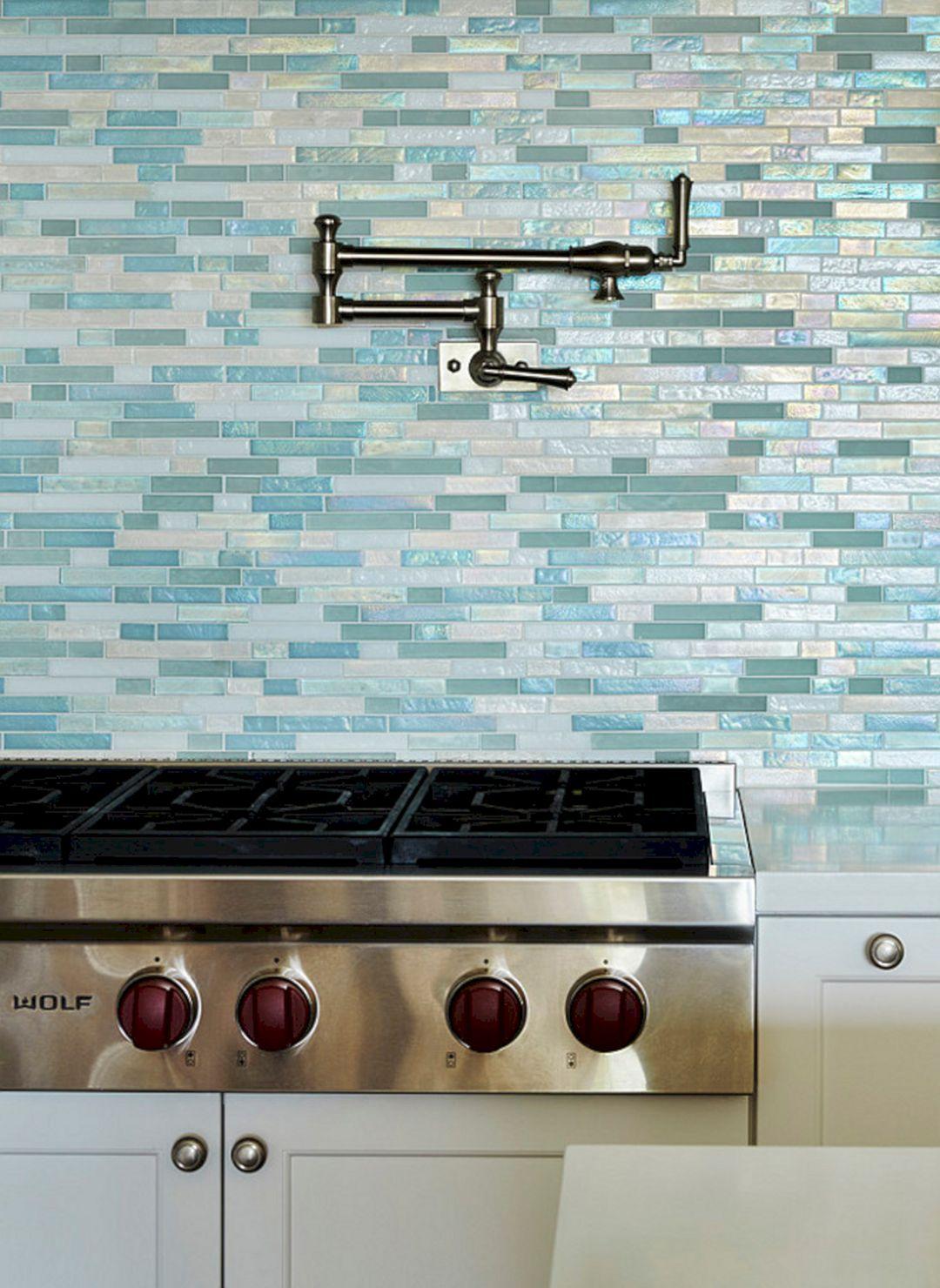 44 Beach Sea Glass Tile Kitchen Backsplash – DECOREDO