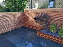 Backyard Fence Idea