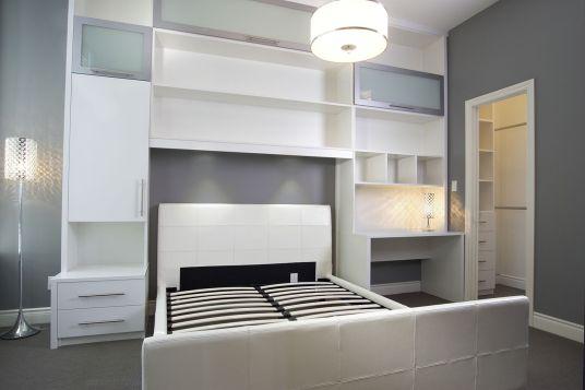 Bed Surround Storage Solution