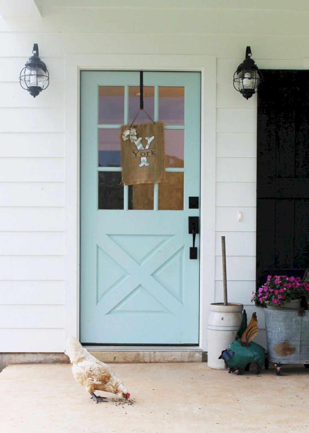 Blue Front Door Paint Colors Sherwin Williams  DECOREDO