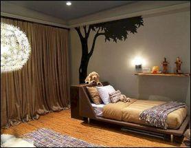 Camping Outdoor Theme Boys Bedroom Ideas
