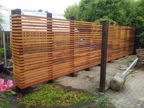 Cheap DIY Privacy Fence Ideas