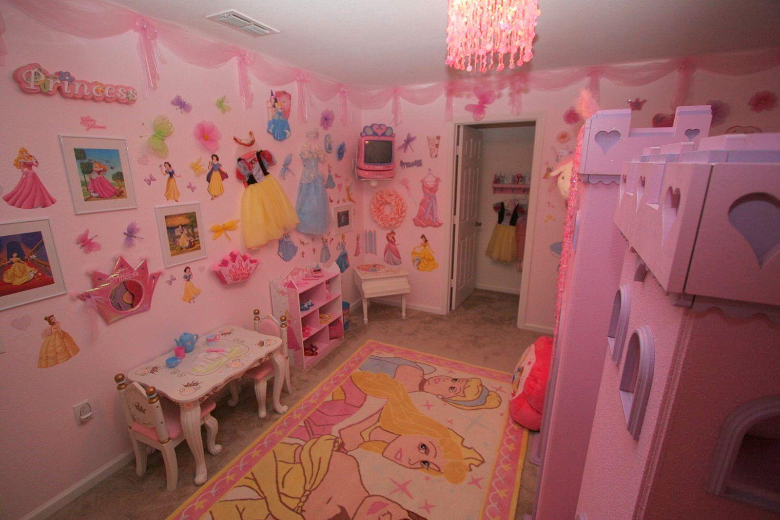 Disney Princess Bedroom Idea
