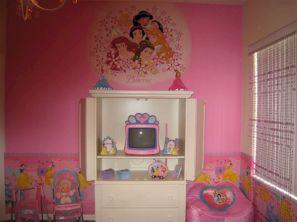 Disney Princess Room Decor