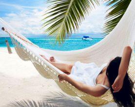 Exotic Vacation Hammock Tropical
