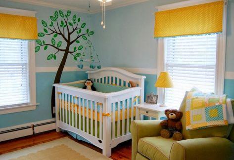 Gender Neutral Kids Room Idea