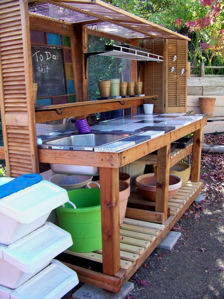 DIY Pallet Garden Design Ideas