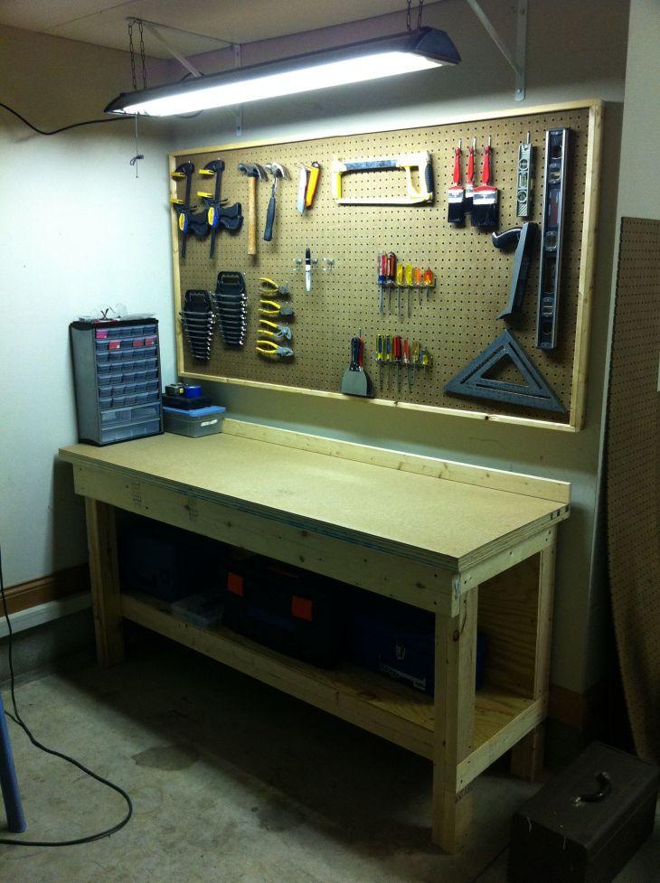 Good Ideas About Garage Workbench