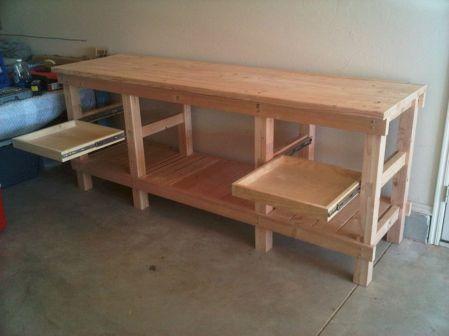 Good Ideas About Garage Workbench No 31