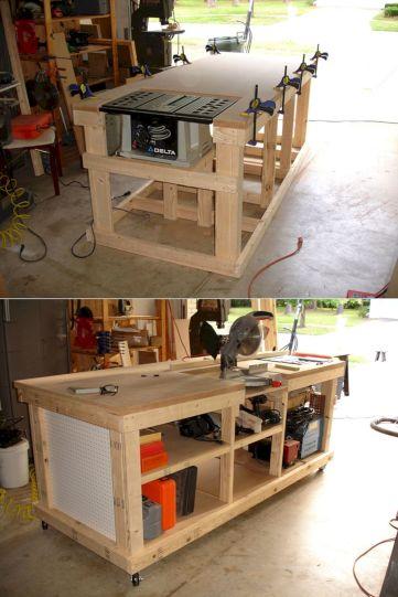 Good Ideas About Garage Workbench No 7