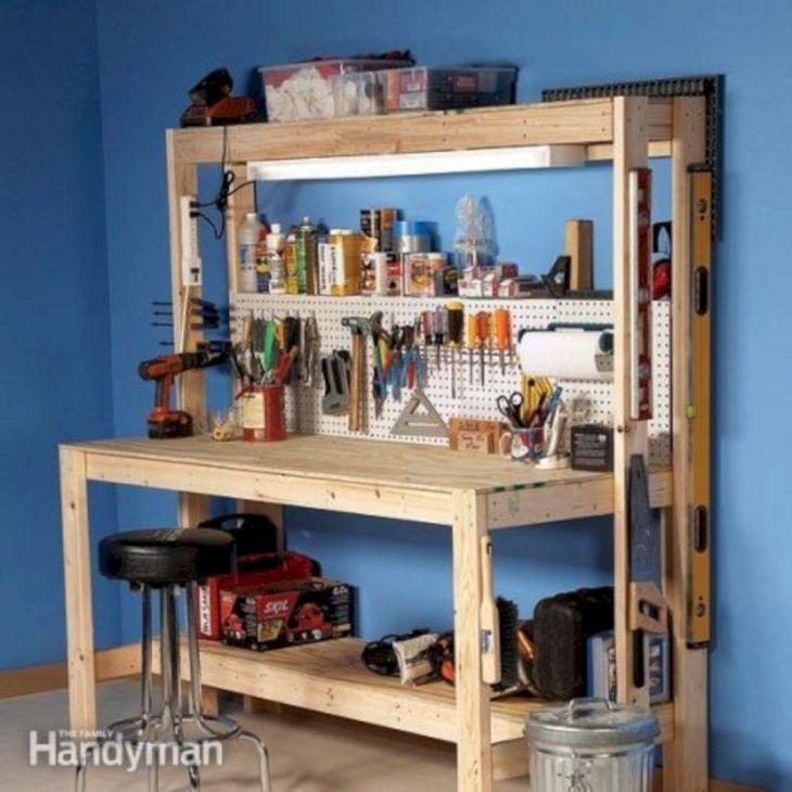 Wonderful Garage Workbench Ideas