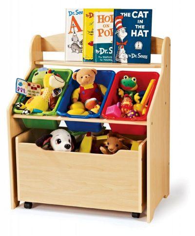 Kids Toy Storage Bins and Organizers