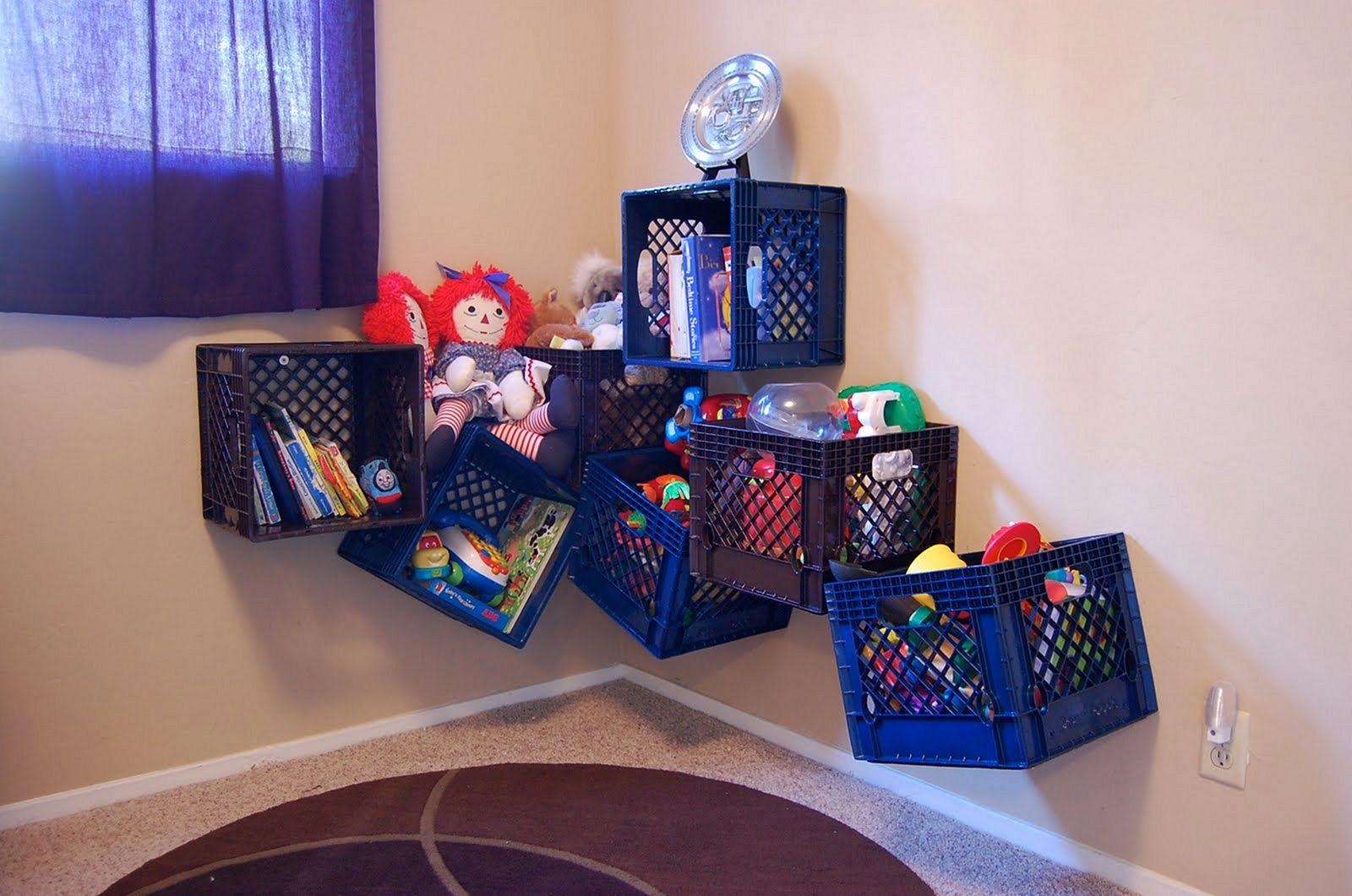 Kids Toy Storage Ideas