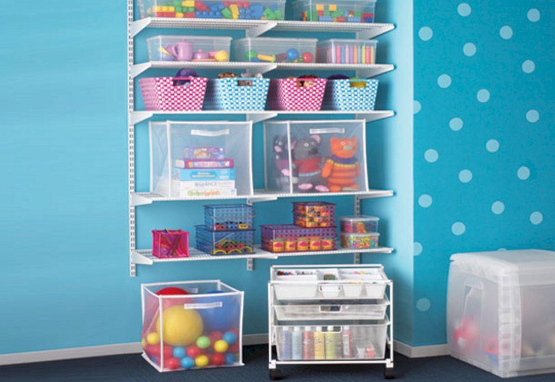 Kids Toy Storage Shelves