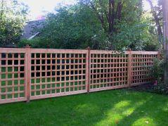 Lattice Fence Design Ideas