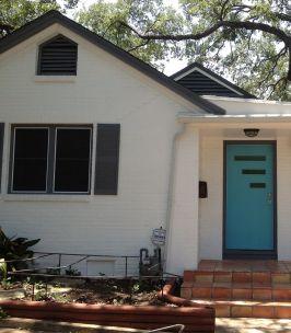 Mid Century Modern Front Door Color