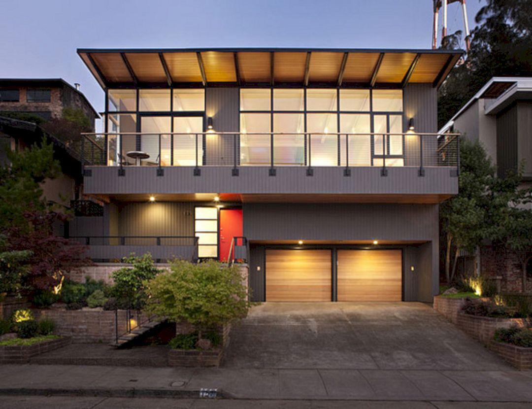 Mid Century Modern Homes Exterior Colors – DECOREDO