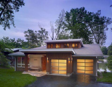 Mid Century Modern House Exterior