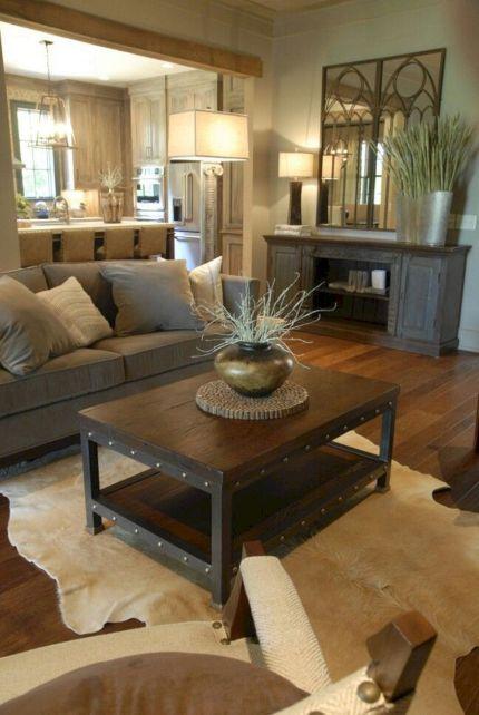 Modern Rustic Living Room Ideas