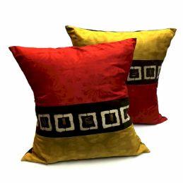 African Mudcloth Pillow Decor
