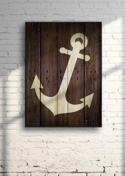 Anchor Nautical Bathroom Decor