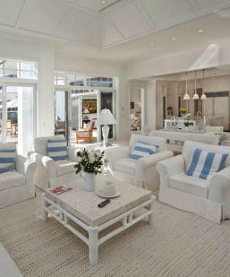 Beach House Interior Design Ideas for Living Room