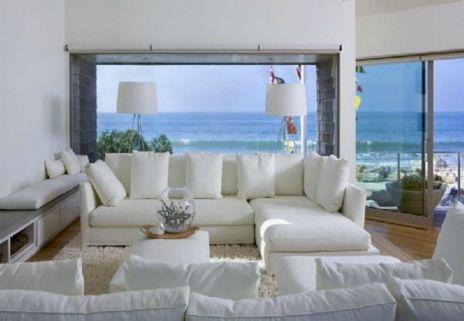 Beach House Living Room Interior Design