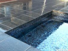 Black Granite Pool Tiles
