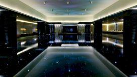 Black Tile Swimming Pool Ideas