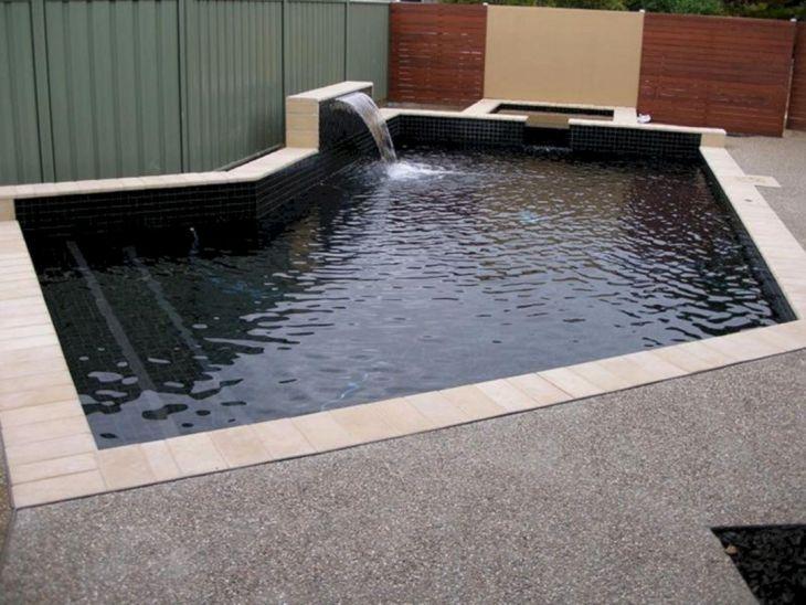 Black Tile Swimming Pool