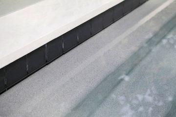Black Tiles Swimming Pools