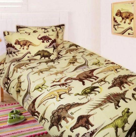 Boy Dinosaur Bedding