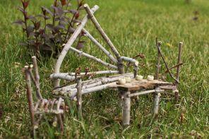 DIY Fairy Garden Furniture