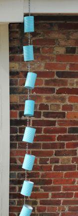 DIY Spoon Rain Chains