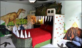 Dinosaur Theme Bedroom Decors