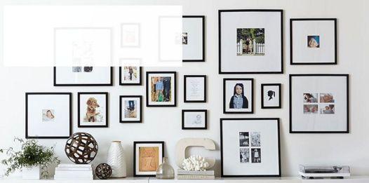 Gallery Wall Idea design