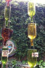 Glass Rain Chain